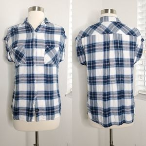 •RAILS• Britt Plaid Button Down Shirt XS.